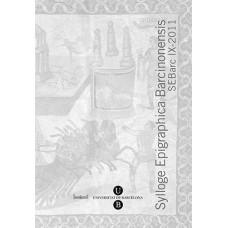 Sylloge Epigraphica Barcinonensis IX (2011)