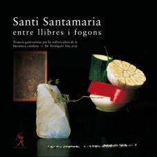 Santi Santamaria entre llibres i fogons