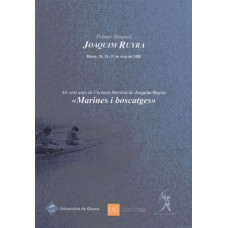 Primer Simposi Joaquim Ruyra (2003)